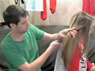 JizzBunker Porno - Pull Silky Hair And Brushes Long Hair Hair