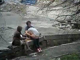 VoyeurHit Porno - Couple Fuck In Park