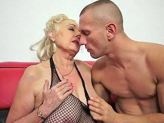 HellPorno Porno - Aged Doll Sila Is Satisfying Her Young And Muscular Fucker