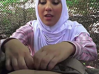 GotPorn Porno - Two Arab Babes Suck A Cock In A Military Jungle Camp