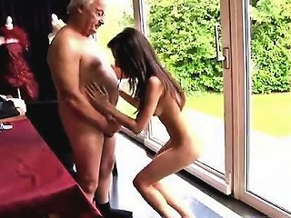 DrTuber Porno - Young Tiny Teen And Old Man Horny Senior Bruce Spots A Lovel