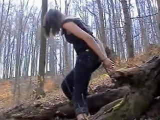PornHub Porno - Handcuffed In The Woods