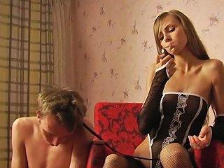 TXxx Porno - Cute Russian Teen Dominatrix Tortures Her Thrall Txxx Com