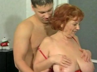 XHamster Porno - Big Tit Granny Mathilda Gets Her Furry Thatch Pounded