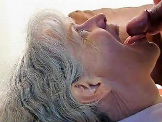 XHamster Porno - Grey Haired Granny Blowjob And Cum In Her Mouth Porn 80
