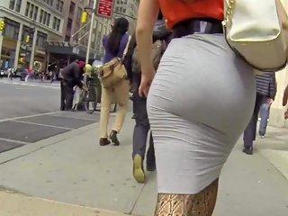 XHamster Porno - Hot Blonde Ass Skin Tight Grey Skirt Hd Porn D4 Xhamster