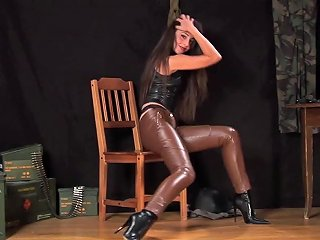 XHamster Porno - Lorena Garcia In Sexy Leather Outfit Hd Porn B5 Xhamster
