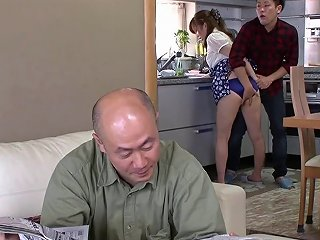 BravoTube Porno - Horny Asian Housewife Gets Fucked While Hubby Is In The Next Room